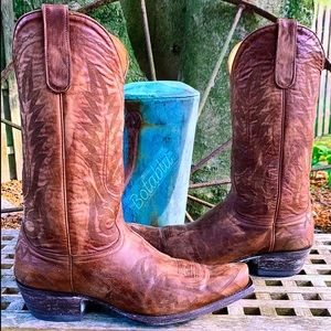 OLD GRINGO Near-New Brown Cowboy Western Boots 9